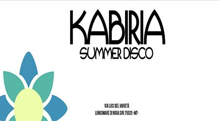 KABIRIA Summer Disco
