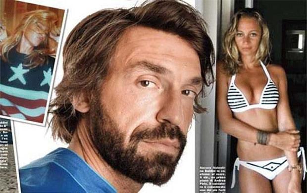 Gossip Andrea Pirlo: è Valentina Baldini la nuova fiamma