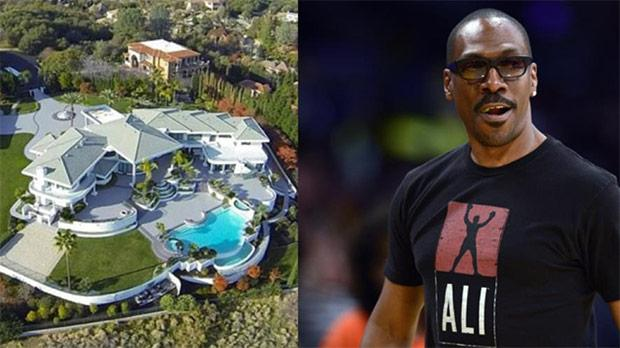 Notizie Eddie Murphy: in vendita la sua mega-villa in California