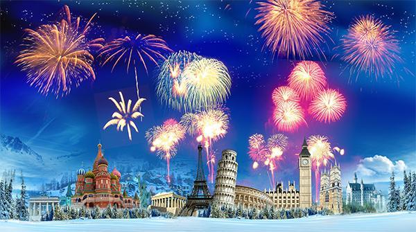 Il Capodanno in Europa: da Lisbona a Mosca e da Parigi a Riga