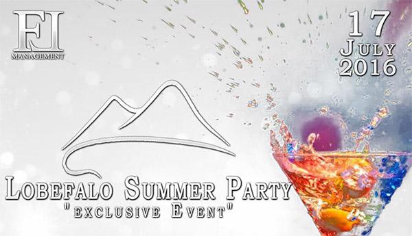 The Summer Exclusive Party by Franco Lobefalo Management