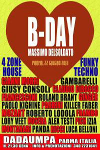 B-DAY TOP ONE NIGHT: TECHNO HOUSE FUNKY