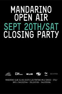 Mandarino Club Open Air Closing Party