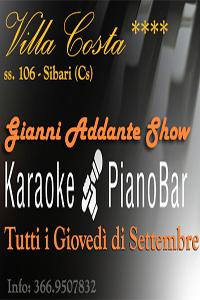 Gianni Addante Live Show: Cena & DopoCena