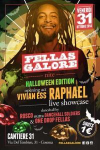 HALLOWEEN Fellas Galore presents RAPHAEL Live