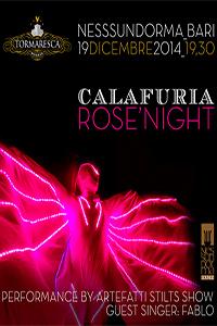 Calafuria Rose' Night con Fablo & Artefatti Live