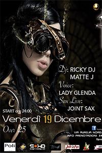Il Venerdi' del Follia Exclusive Club con Lady Glenda Voice