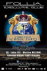 Christmas School Party con la voce piu calda del Centro Italia: LADY GLENDA