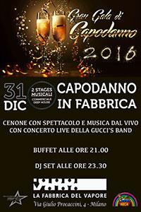 caf6909382d8 Capodanno 2016 in Fabbrica - Milano