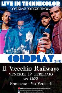 COLDPLAY Frosinone ? Official Coldplay Tribute Band Italiana al Vecchio Railways di Frosinone