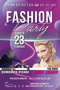 Fashion Party... Domenico Pisani Dj + Lady Jenny Voice